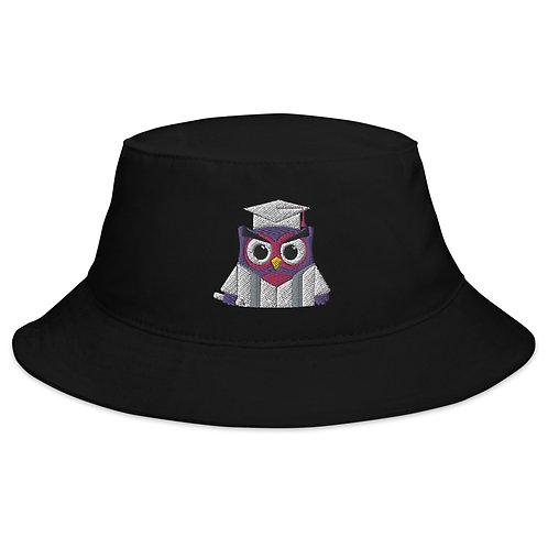 Owl Grad Bucket Hat