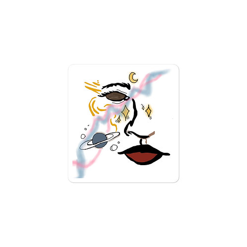 Celestial Woman Sticker