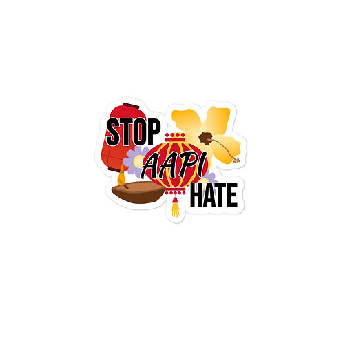 Stop AAPI Hate Sticker
