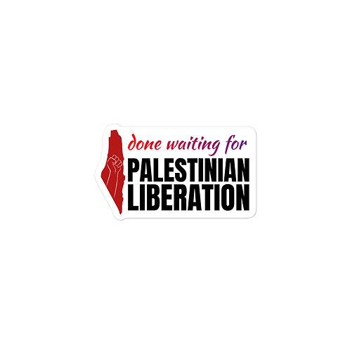 Palestine Liberation Sticker