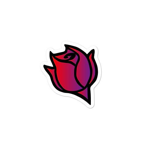 Rose Logo Sticker