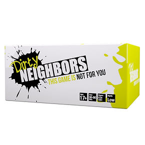 Dirty Neighbors Game Box - A Party Game