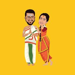 Priya-&-Vivek-Caricature3.png