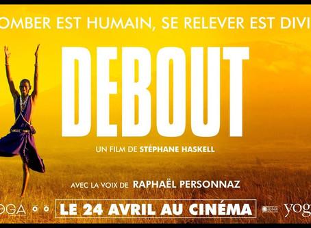 """Debout:le film """"projection à Chambéry"""""""