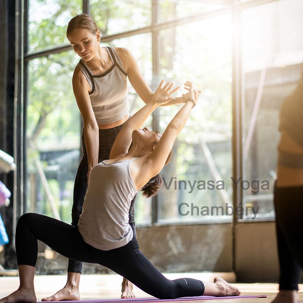 Cours de Vinyasa Yoga à Chambéry