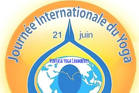 Journée internationale du yoga Chambéry 21 Juin 2021