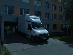 stěhovací vozidlo