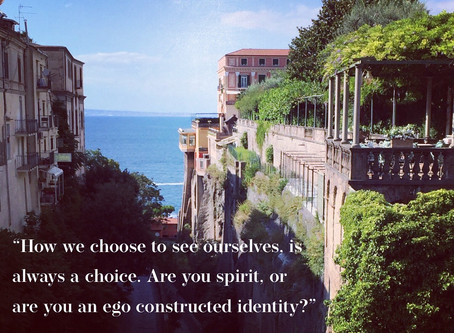 How We Choose to See Ourselves is Always a Choice
