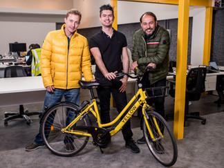 O amarelo contagiante das bikes Yellow