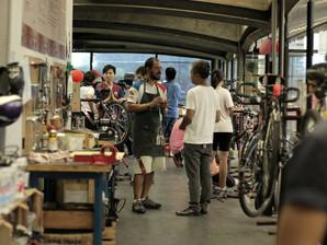 Conheça a oficina comunitária que te ensina a regular sua bike