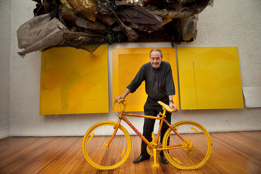 O publicitário José Zaragoza, em foto de Érico Hiller