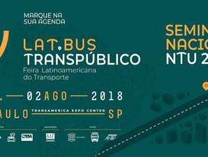De 31 de julho a 2 de agosto acontece o Seminário de mobilidade da NTU