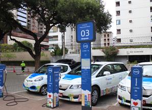 Os carros elétricos estão chegando