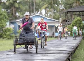 Livro mostra a cultura da bicicleta nas pequenas cidades do Brasil