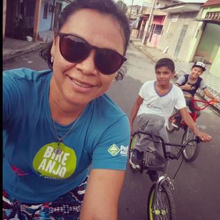 Bicicletas em prol do coletivo