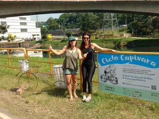 CPTM e cicloativistas lançam campanha para alertar sobre lixo  na Ciclovia Rio Pinheiros