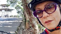 Uma carioca que ama a bicicleta