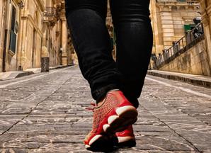 Caminhar é um prazer