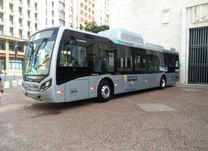 São Paulo ganha ônibus 100% elétricos