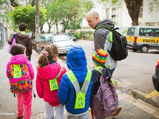 Mobilidade ativa e escola devem andar juntas