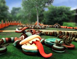 Dragões ressurgem no novo playground