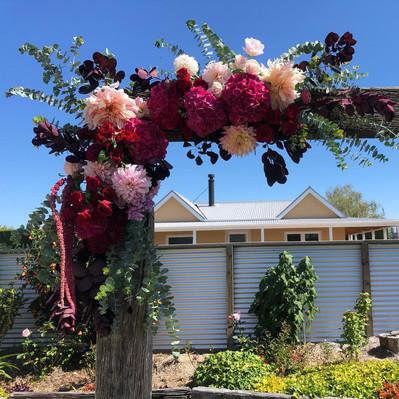 Arch Flowers by Samantha Rose Flowers, Ashburton