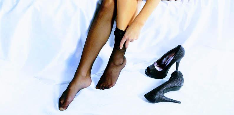 Plakt je panty aan je jurk? Dit is hoe je het voorkomt.