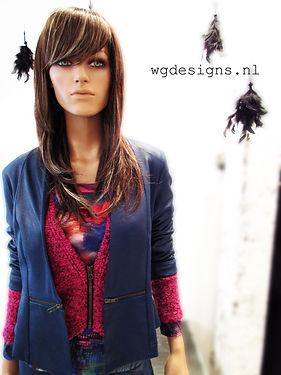 kleurrijke kleding utrecht blauw roze print bijzondere mode