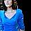 Thumbnail: Alexia | top | blauw