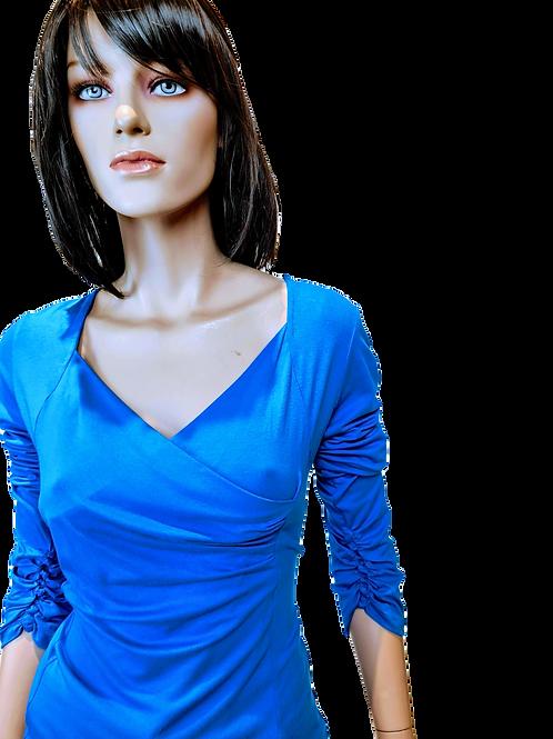 Alexia | top | blauw