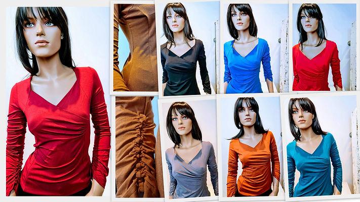 Alexia tops kleurrijke kleding luxe tops