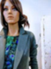 mooie bijzondere kleding utrecht wgdesigns print blauw groen