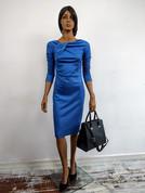 Isabelle jurk blauw wgdesigns utrecht pr