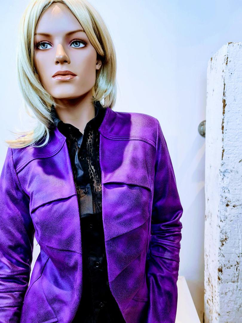 Janice paars mooie kleurrijke bijzondere