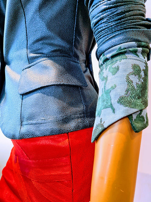 Macy rok rood oranje gwenda gladys groen