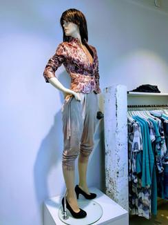 denise jumpsuit roze esther blazer snake