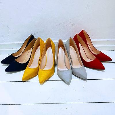 Kleurrijke pumps mooie hakken schoenen d