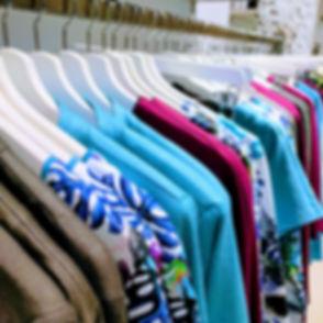 mooie bijzondere kleurrijke kleding creaties blauw print taupe lichtblauw utrecht zadelstraat modeontwerper