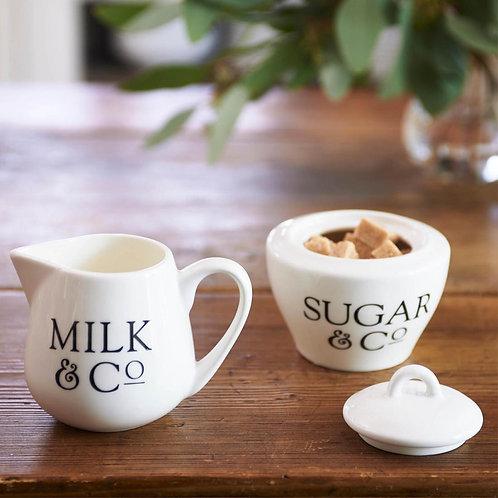 Milch & Zucker Set RIVIERA MAISON