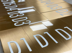 ADA Braille Signage by Vista Visual Group