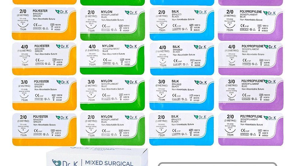 24 Mixed Sutures