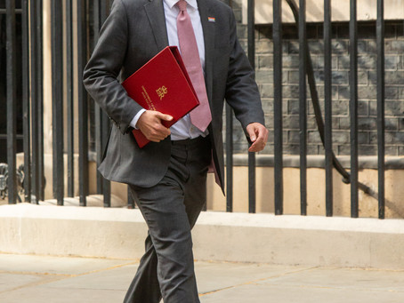 MINISTERS ARRIVE AT DOWNING STREET