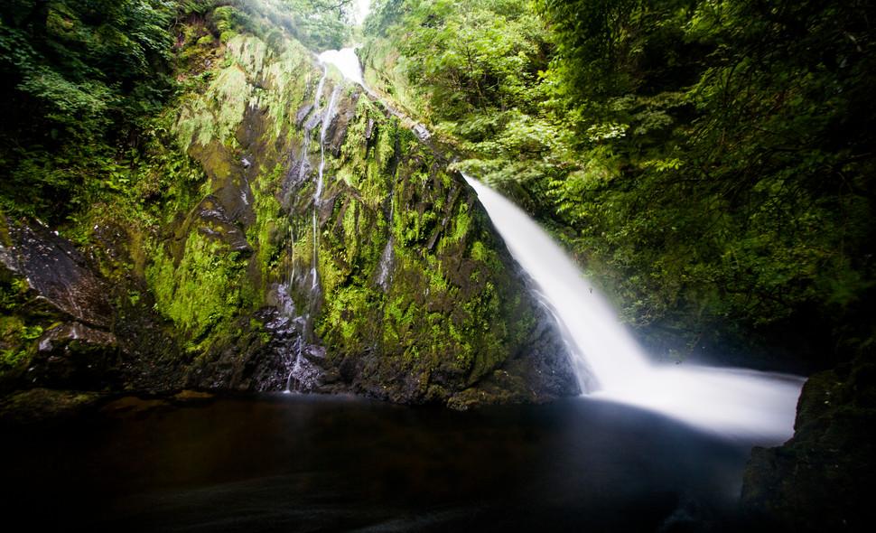 Llanberris Waterfall