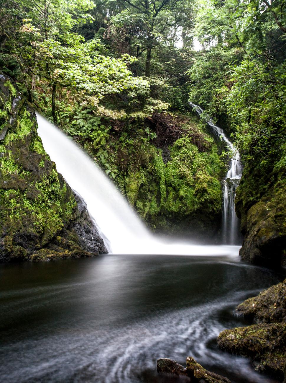 Llanberris waterfalls