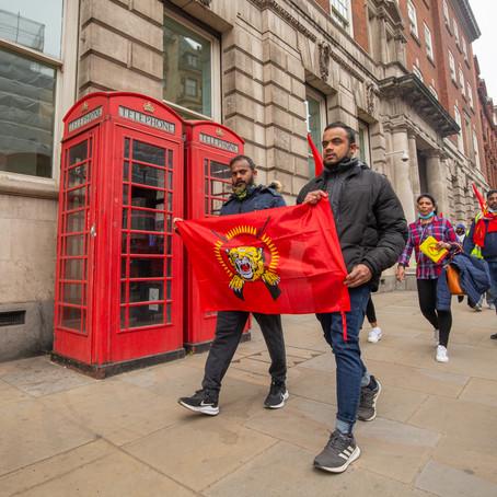 LTTE PROTEST