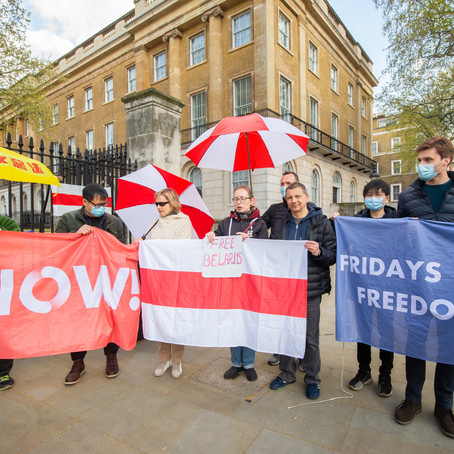 PROTESTS AROUND LONDON