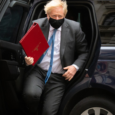 MINISTERS LEAVE FOR PMQ'S