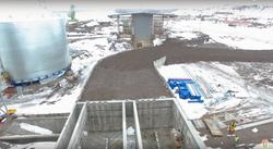 Строительство портового терминала