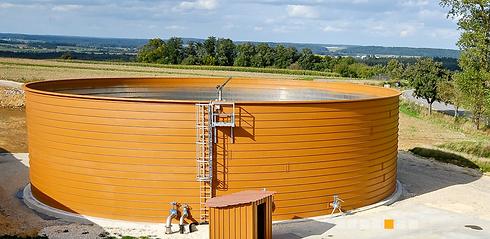 Резервуары для очистки комунальных стоков