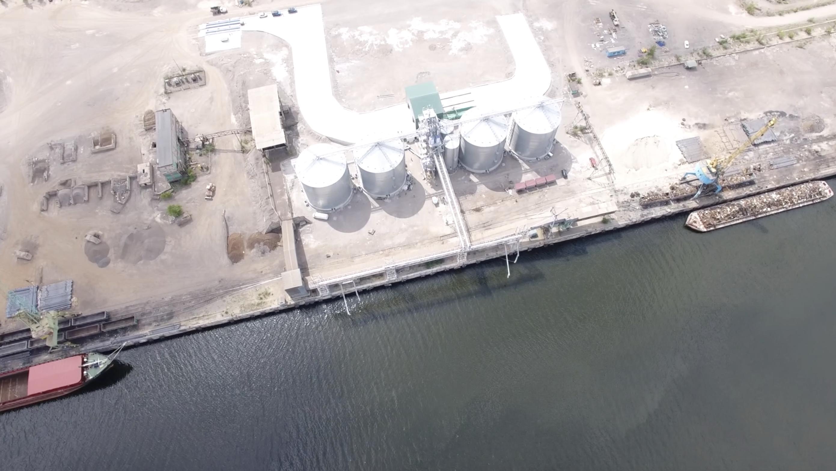 Портовый зерновой терминал